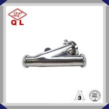 Filtre hygiénique Ss316 ou Ss304 en acier inoxydable Y