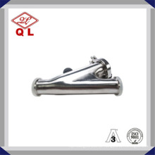 Filtro Y de aço inoxidável Ss316 ou Ss304