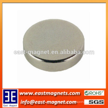 Disc Size Use for Industrial Sintered Neodymium Magnet/thinner round shape ndfeb magnet for custom-made