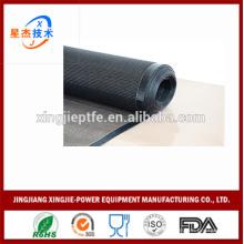 Máquina de impresión cinta transportadora de alimentos de secado PTFE recubierto de fibra de vidrio malla abierta