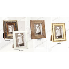 Wooden Compo Photo Frame with Foil with Distressing Finish