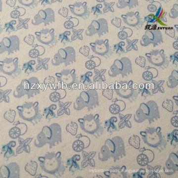 Printed nonwoven napkin, printed nonwoven table cloth