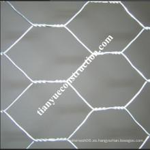 Malla de alambre hexagonal galvanizado (fábrica y proveedor)