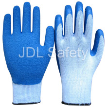 Latex Work Glove of Colorful Coating (LY3013) (CE Approved)