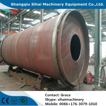 10tons waste plastic to diesel oil refining machine