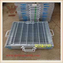 Barra de acero / rejilla galvanizada / de la barra del piso