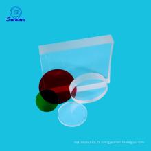 Optique achromatique loupe cylindrique