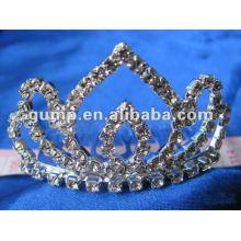 Crstal tiara comb (GWST12-104)