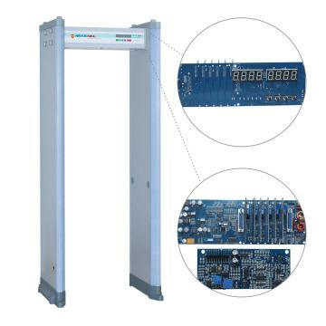 Super Sensitivity Rasierklinge Inspektion Archway Metalldetektor