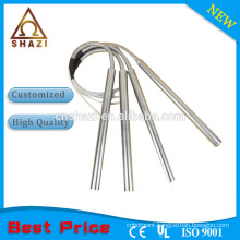 cartridge heater with stainless steel hose
