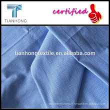 Rayures verticales tissus teints en fils teints tissus/perpendiculaire ligne / tissu chemise de l'homme