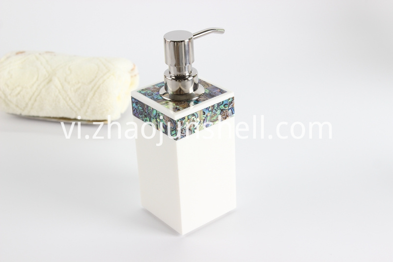 paua shell soap dispenser