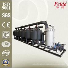Ciclo de energía eléctrica Agua por filtro de pase