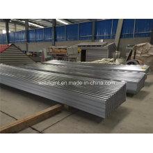 Chapa de aço inoxidável Chapa de aço galvanizado