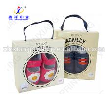Boîte de papier recyclé personnalisé, boîte de papier d'emballage, emballage de boîte de papier