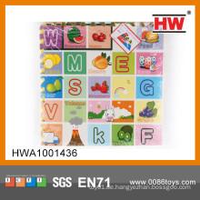 Interessante EVA Puzzlespielmatte 4PCS englische Buchstaben, die Spielzeug eva Schaumstoffmatte lernen