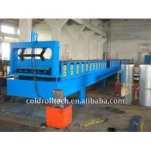 Máquina formadora de estrutura metálica em estrutura de aço para construção