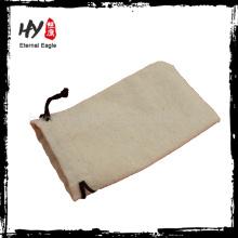 Bolsa de cordón de lona de panda de clase alta con precio bajo