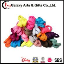 Großhandelsüberholte farbige Polyester-halbe runde gedruckte Spitze