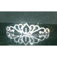 rhinestone crystal wedding crown