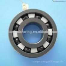 Material Si3N4 6204 6205 6304 rolamento rígido de esferas em cerâmica completa