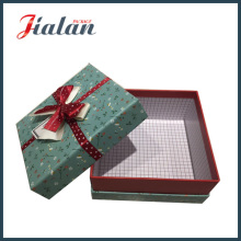 High Quality Wholesale Matte Lamination Gift Paper Box with Bows