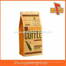 Larege Natrual Кофейные пакеты из крафт-бумаги без ручек, упаковка для попкорна, пакеты для упаковки в пакеты для хлеба