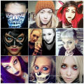 Cosplay Contact Lenses Cat Fresh Coloured Contacts Lens Colored Color Halloween Purple Alt Green Gragon Sharingan with PP Packaging