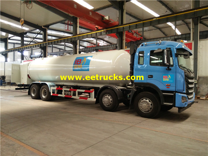 LPG Delivery Tank Vehicles