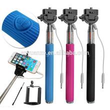 Красочная ручка собственной личности bluetooth, ручка selfie полюса кабеля принимает, шлемофон собственной личности слипчивый