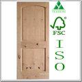 V-Groove Raised Panel Knotty Alder Wood Door