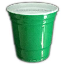Copa Mini Solo de melamina de dos tonos (CP7271)