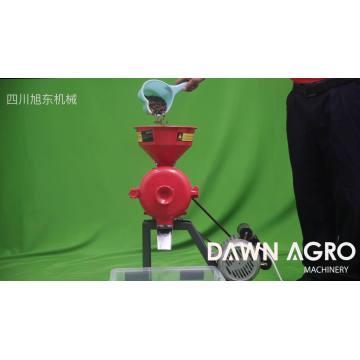 DAWN AGRO Moinho De Farinha de Arroz Tempero Moagem Grinder Preço Máquina