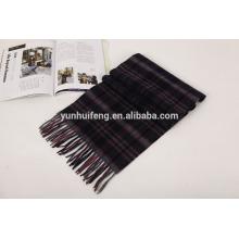 bufanda interna de lana de mongolia check.tartan