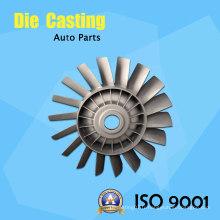 Moulage sous pression en alliage d'aluminium assuré de qualité pour lame à turbine
