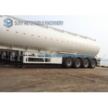 4 Axles Fuel Tank Semi Trailer, 15400 Gallon, 58 Cbm Oil Tank Semi Trailer
