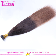Top quality straightening brazilian keratin hair treatment nano keratin ombre hair extensions
