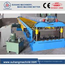 Máquina de moldagem de rolo de painel de piso de alta produtividade com baixo consumo