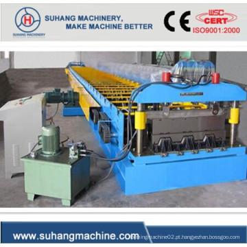 Máquina de formação de rolo de piso de plataforma de aço de alta resistência