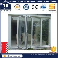 New Design Entrance Aluminium Folding Door/Bi-Folding Door