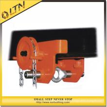 Polipasto de 0.5-5t con abrazadera para carros monorraíl / barra de engranajes