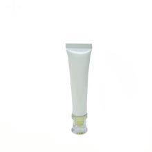 tubo de plástico para el envasado de cosméticos cosméticos de metal crema para los ojos tubos blancos suaves