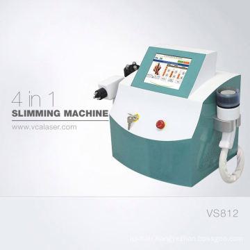 4 in 1 Cavitation Vacuum RF diode laser Slimming Machine