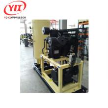 Compresor de aire de pistón de alta presión Hengda para uso industrial