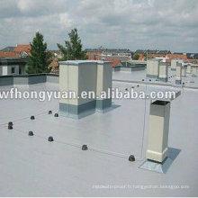 Feuille imperméable unique de toit de polymère de PVC anti-UV (OIN)