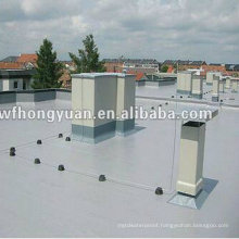 Anti-UV PVC Polymer Single-Ply Roof Waterproof Foil (ISO)
