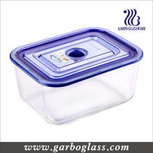 Caja de almacenamiento de vidrio Pyrex con tapa hermética