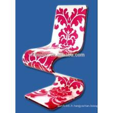 table à café en acrylique et chaise acrylique