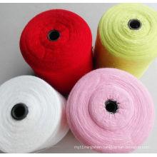 30s Raw White Polyester Ring Spun Yarn