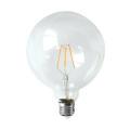 LED Filament Light G125-Cog 6W 650lm 6PCS Filament